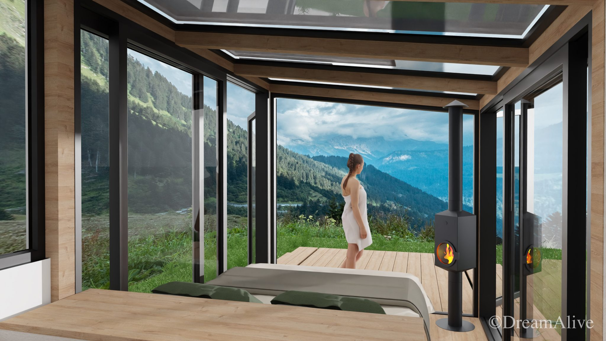 DreamAlive Interior Lodge Walsertal Equipment Prototype